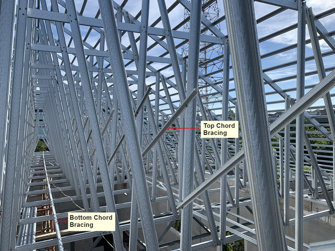 Struktur Atap Baja Ringan